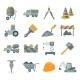 Construction Icons Set - GraphicRiver Item for Sale