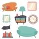 Interior Design Elements - GraphicRiver Item for Sale
