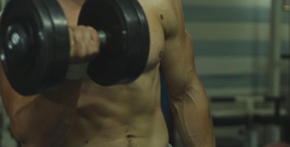 Athlete Doing Exercise 5