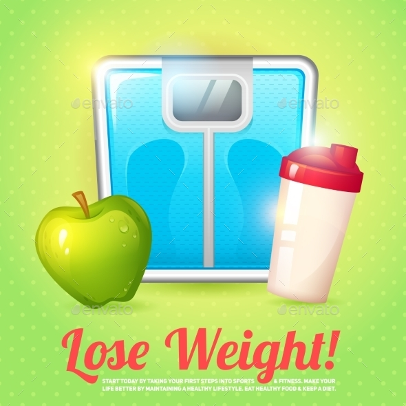 GraphicRiver Weight Poster Diet 8975159