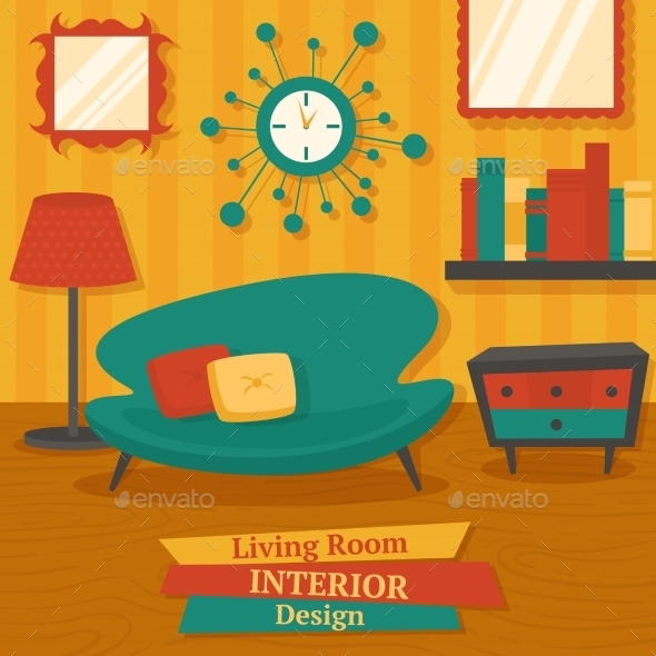 GraphicRiver Interior Design Sofa 8975163