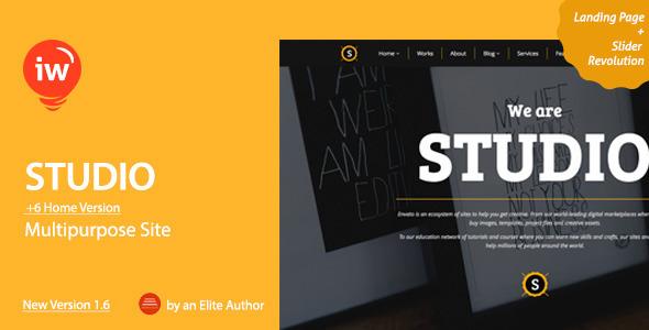 Studio - Multipurpose & Original Responsive Theme - Software Technology