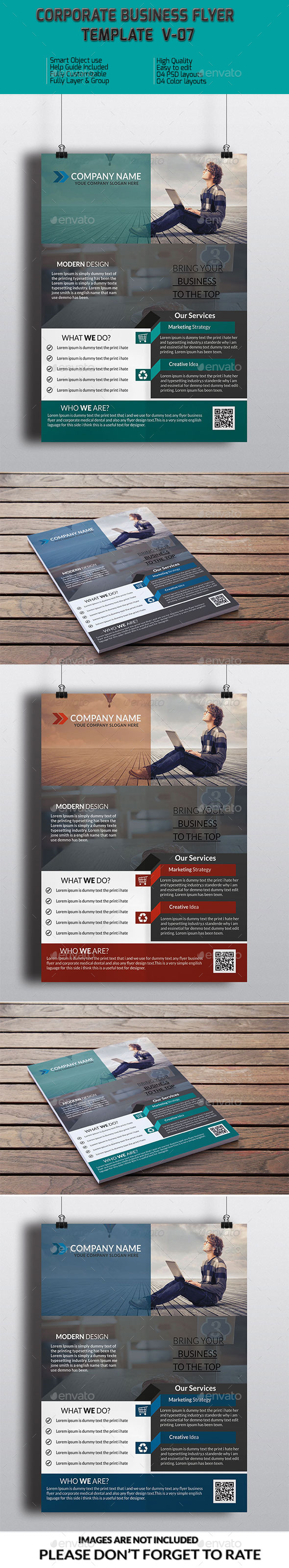GraphicRiver Corporate Business Flyer Template V-07 8975230