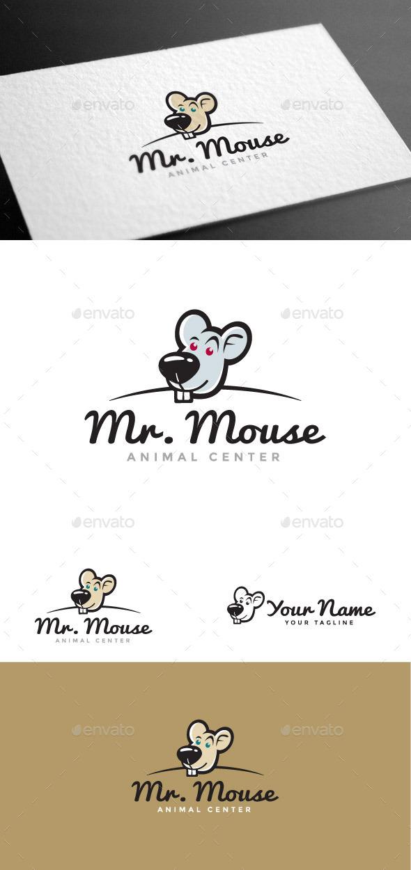 GraphicRiver Mr Mouse Logo Template 8975548