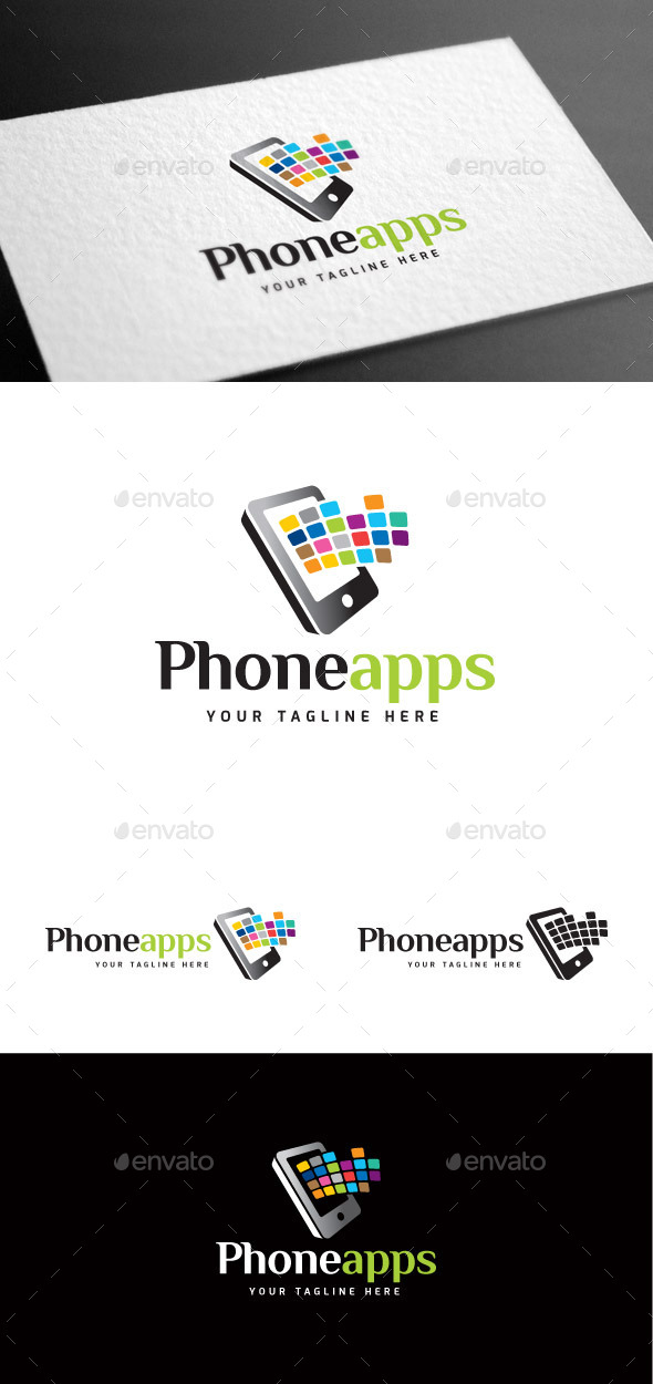 GraphicRiver Phoneapps Logo Template 8975555
