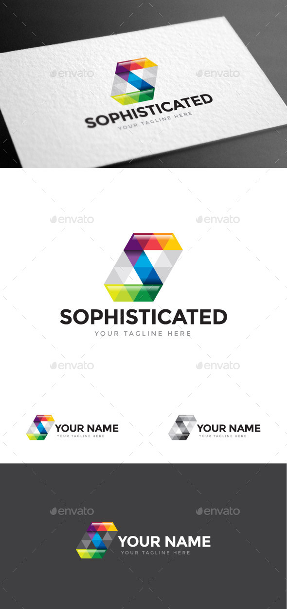 GraphicRiver Sophisticated Letter S Logo Template 8975612