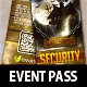 Hanging Event Pass Halloween - GraphicRiver Item for Sale