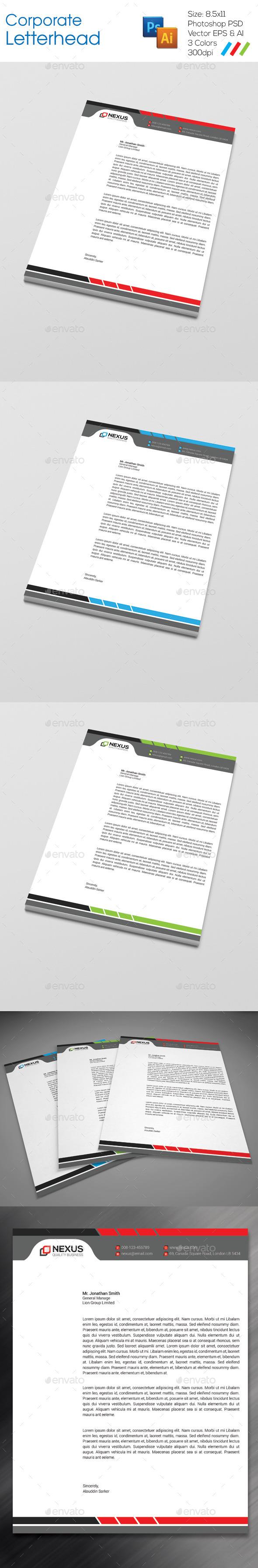 GraphicRiver Corporate Letterhead 8975873