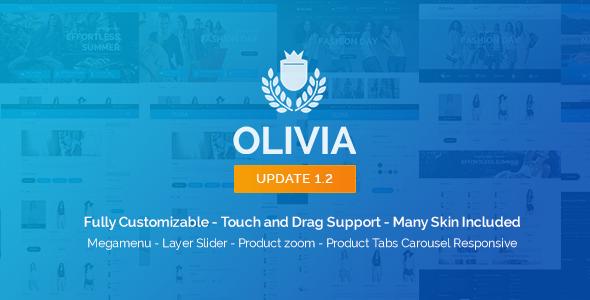 Olivia - Opencart Responsive Theme