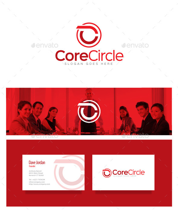 GraphicRiver Core Circle Letter C Logo 8975963