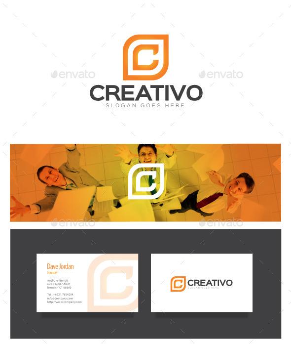 GraphicRiver Creativo Letter C Logo 8975984