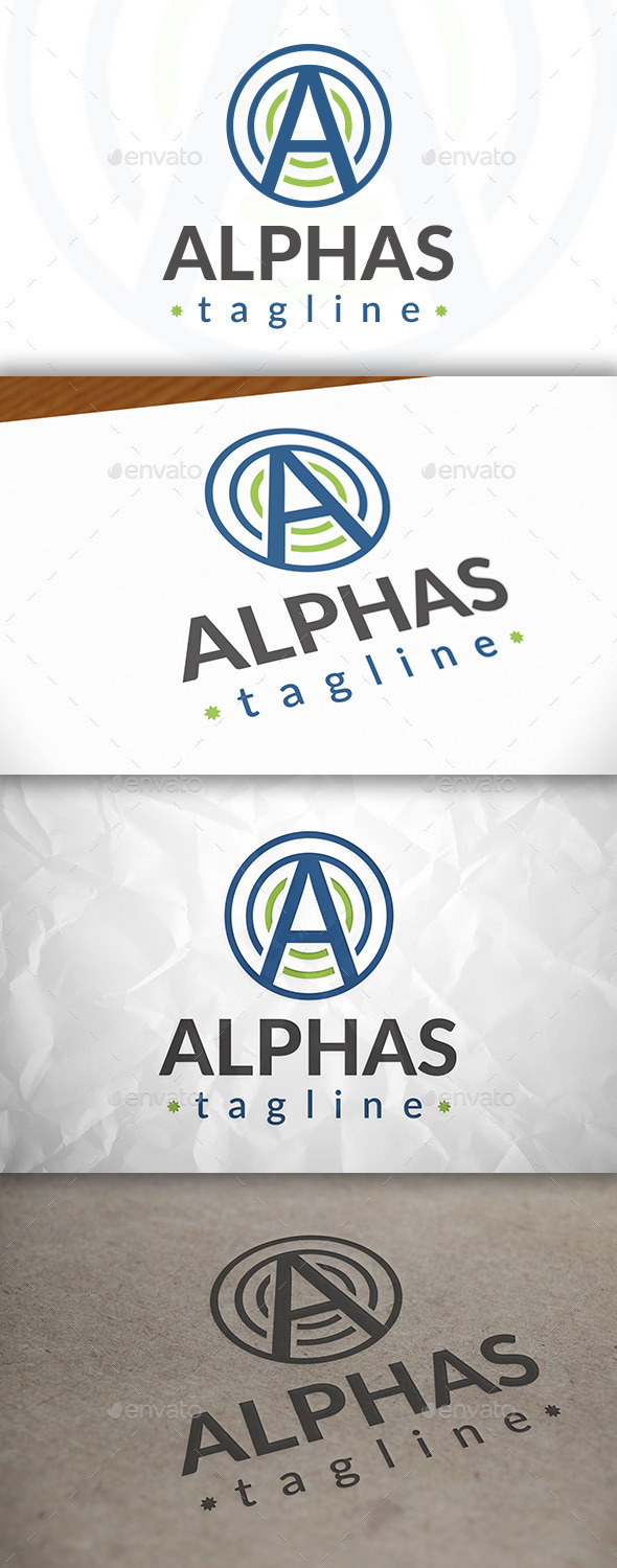 GraphicRiver Alpha Logo 8975986