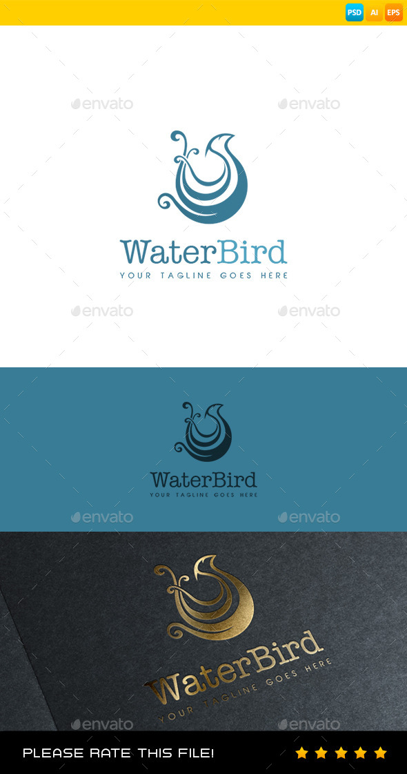 GraphicRiver Bird Logo 8973432