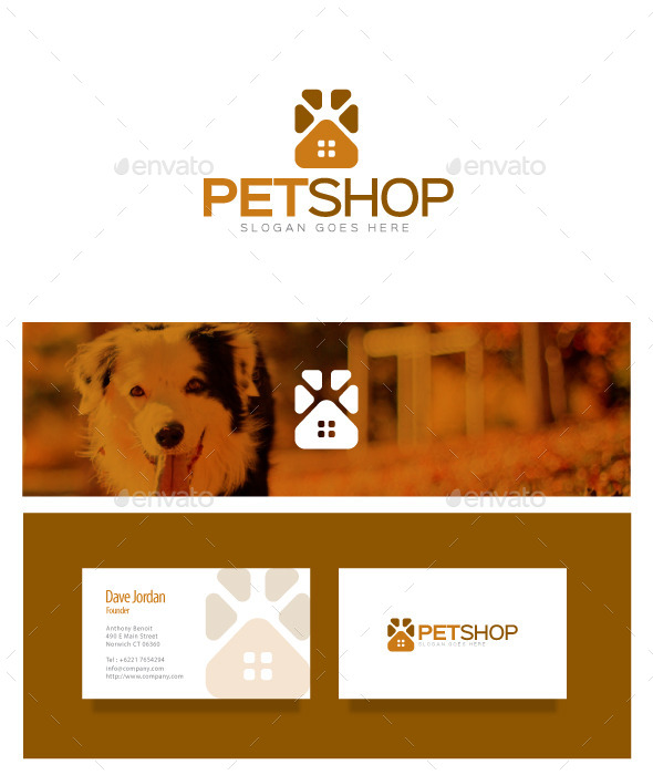 GraphicRiver Pet Shop Logo 8976041