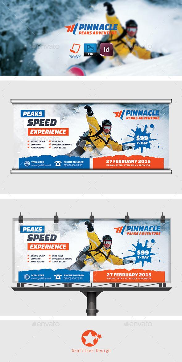GraphicRiver Adventure Billboard Templates 8976092