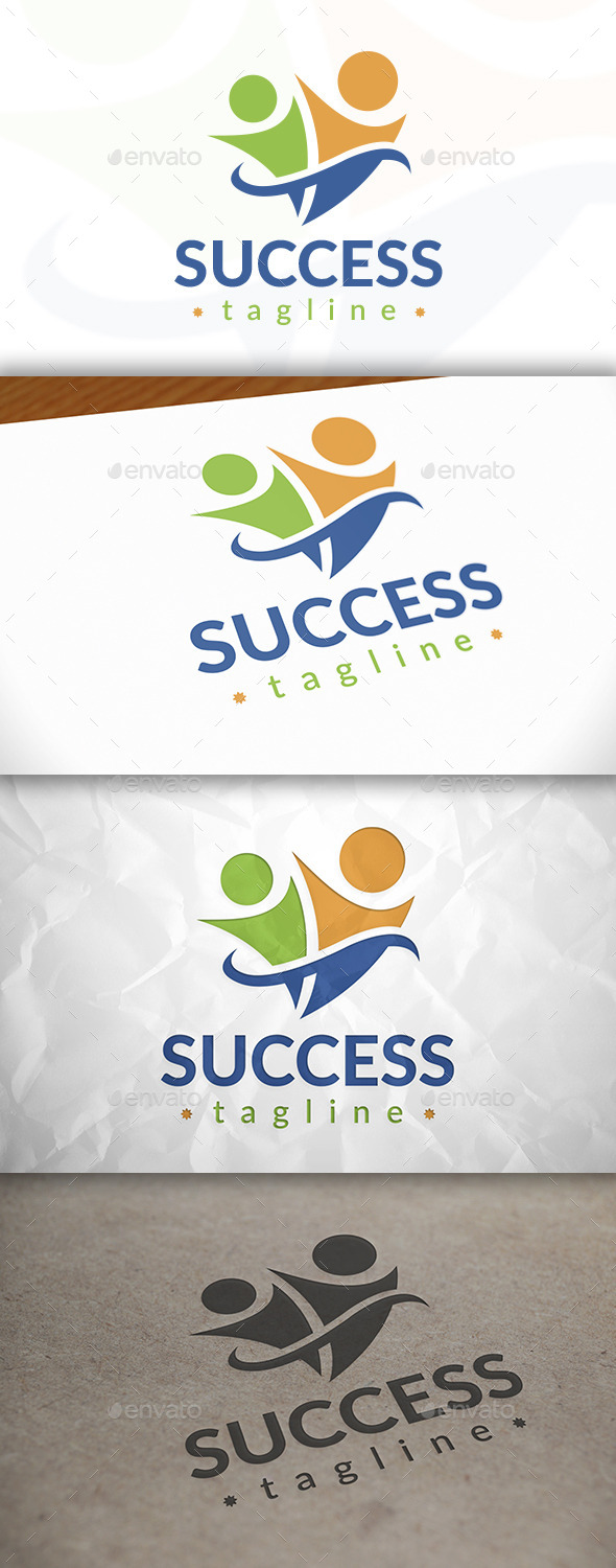 GraphicRiver Success People Logo 8976091