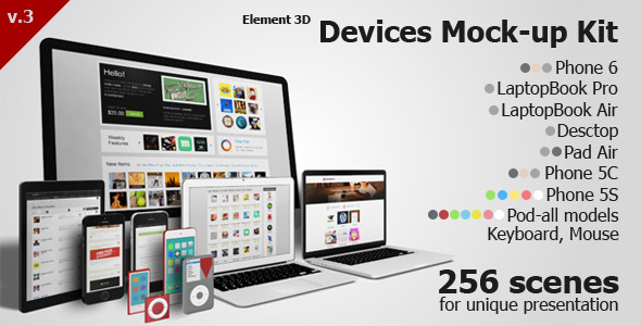 Devices Mock-up Kit