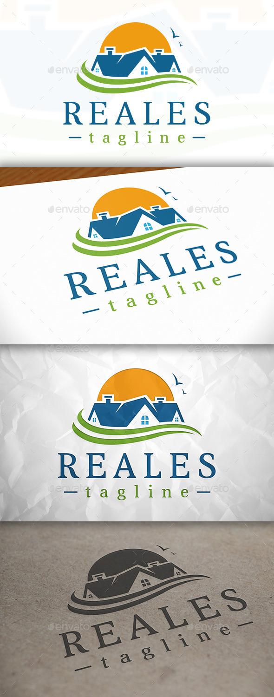 GraphicRiver Real Estate Logo Design 8976561