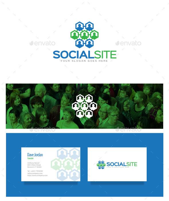 GraphicRiver Social Site Logo 8976772