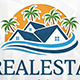 Beach Real Estate Logo Template - GraphicRiver Item for Sale