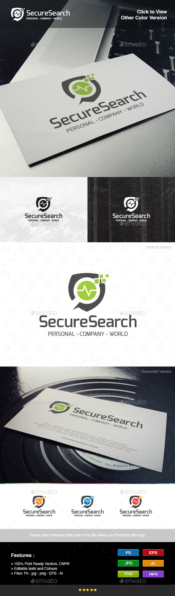GraphicRiver Secure Search 8976845