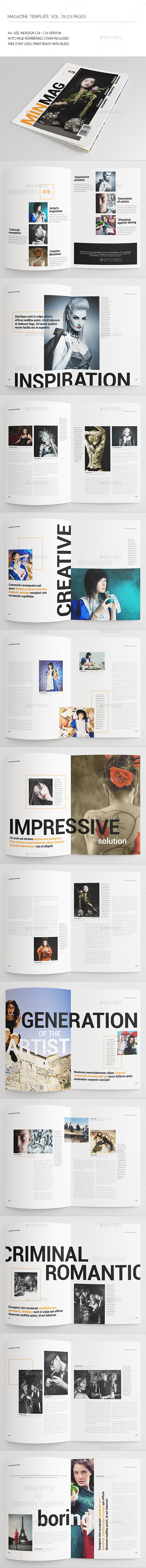 GraphicRiver 25 Pages Universal Magazine Vol78 8977240