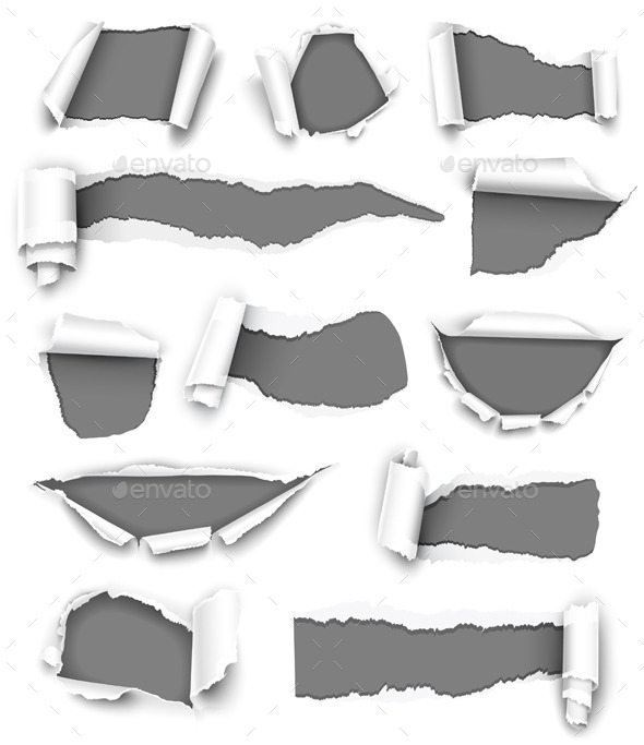 GraphicRiver Collection of Gray Paper 8977723