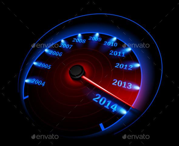 GraphicRiver Speedometer 8977738