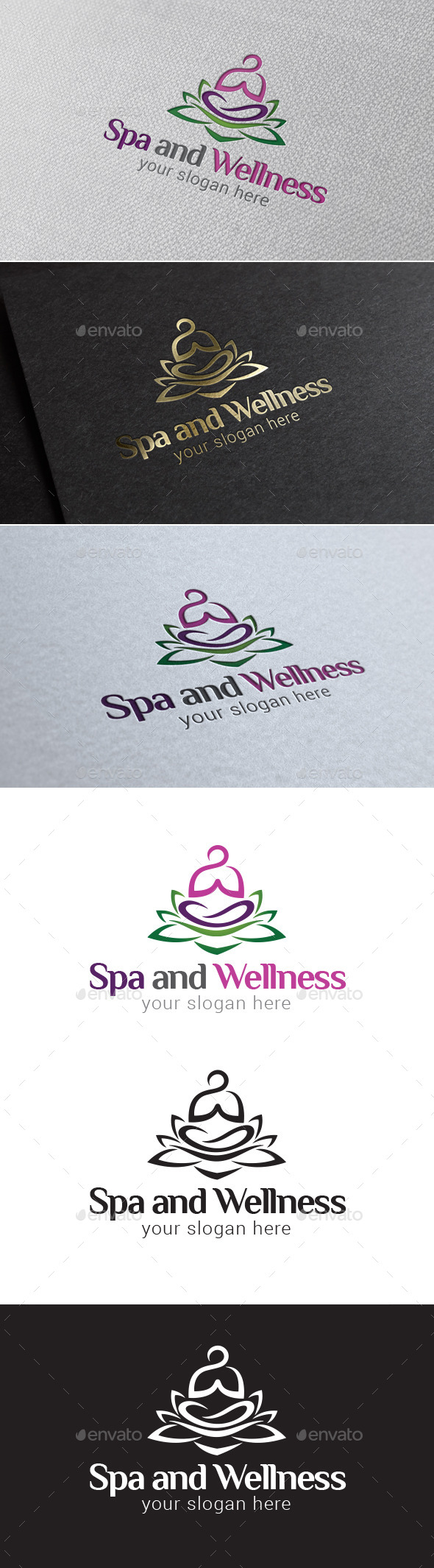 GraphicRiver Spa and Wellness Logo Template 8977763