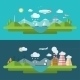 Flat Design Vector Ecology Concept Illustration - GraphicRiver Item for Sale