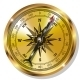 Golden Compass - GraphicRiver Item for Sale