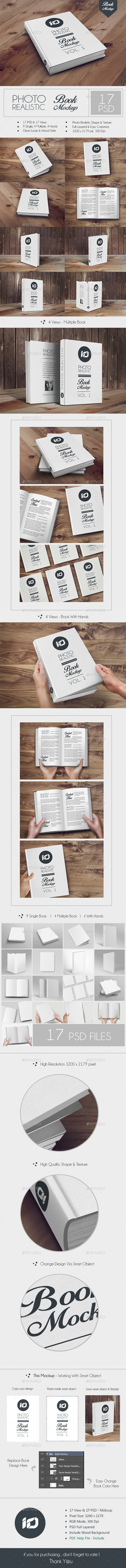 GraphicRiver ID Book Mock-up Photorealistic 8974134