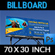 Diving Billboard Template Vol2 - GraphicRiver Item for Sale