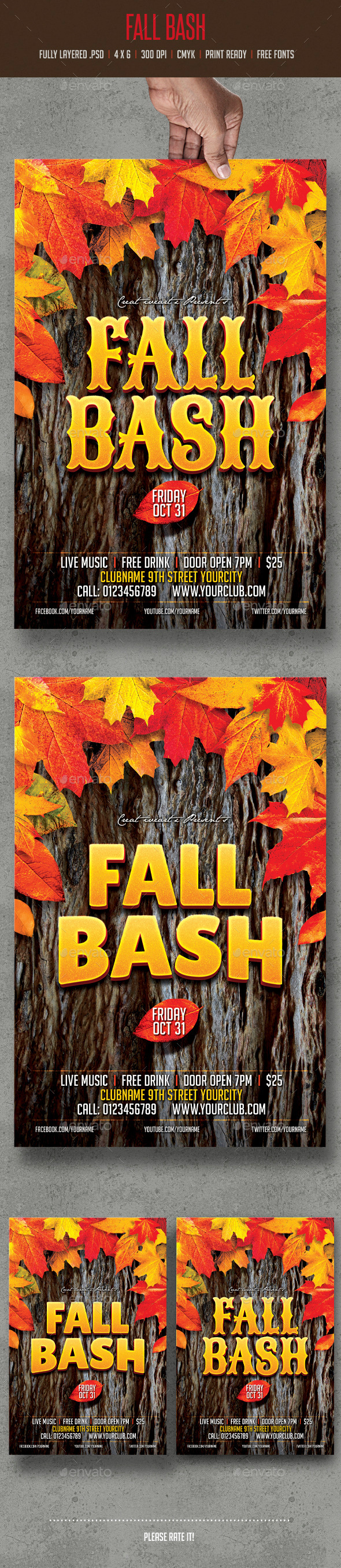 GraphicRiver Fall Bash 8979053
