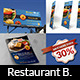 Burger Restaurant Advertising Bundle - GraphicRiver Item for Sale