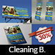 Cleaning Services Advertising Bundle - GraphicRiver Item for Sale