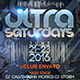 Ultra Saturdays - GraphicRiver Item for Sale