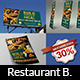 Restaurant Advertising Bundle - GraphicRiver Item for Sale