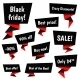 Black Friday Sale Vector Elements - GraphicRiver Item for Sale