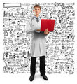 doctor male in suit with laptop in his hands - PhotoDune Item for Sale