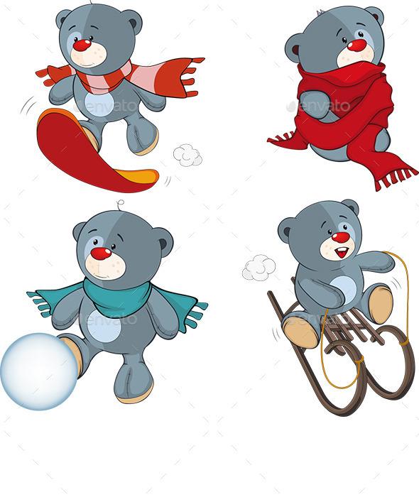 GraphicRiver Stuffed Bear Toys 8979952