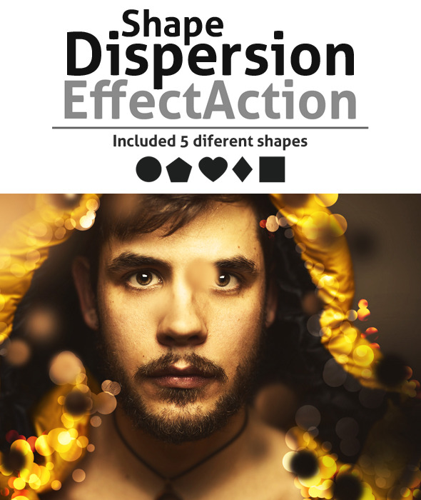 GraphicRiver ShapeDispersion Effect Action 8980022