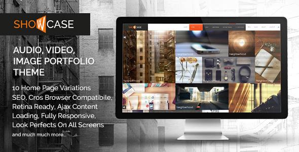 Showcase - Ajax / HTML Responsive Portfolio Theme
