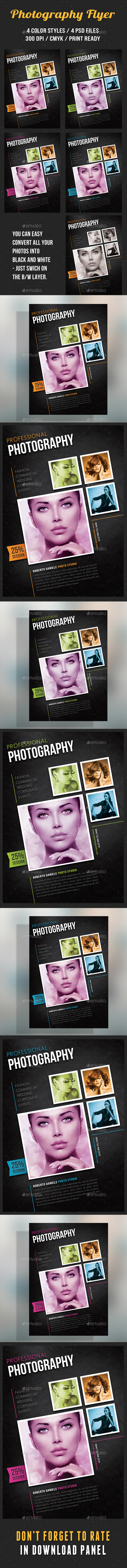GraphicRiver Photography Studio Flyer 11 8980164