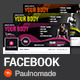 Fitness Facebook Timeline - GraphicRiver Item for Sale