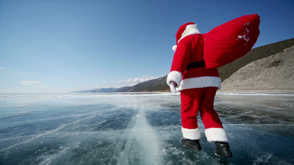 Travel Santa on Lake Baikal 9