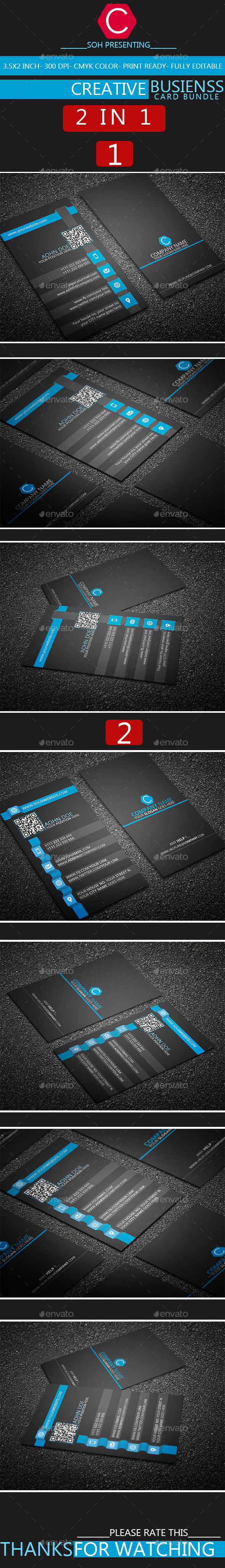GraphicRiver Creative Business Card Bundle 8980257
