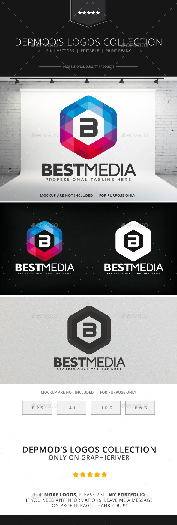 GraphicRiver Best Media Logo 8980361