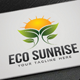 Eco Sunrise Logo - GraphicRiver Item for Sale
