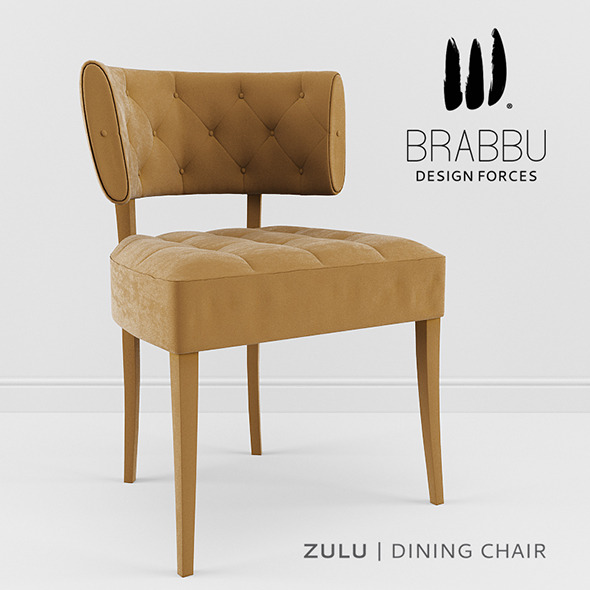 3DOcean Brabbu Zulu DIning Chair 8980500